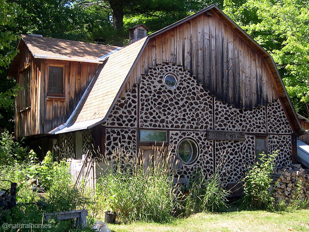 Cordwood Building Needs Dry Wood That Clink Together
