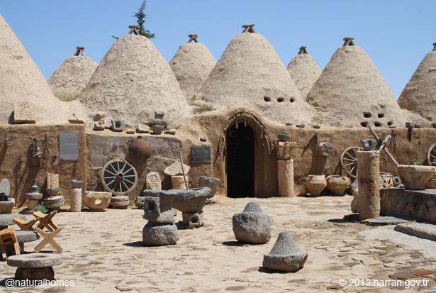 The Adobe Beehive Homes Of Harran Turkey