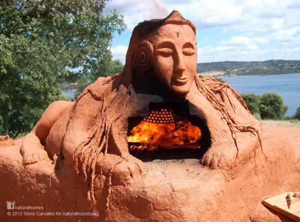 Cob ovens at boom festival portugal - The cob house the beauty of simplicity ...