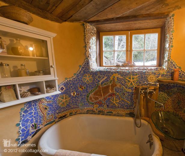 A Beautiful Cob House In Oregon Usa