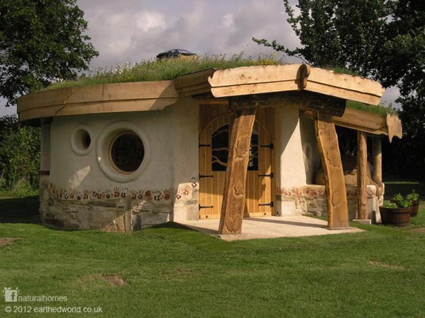 The cob house collection at natural homes for Natural home plans