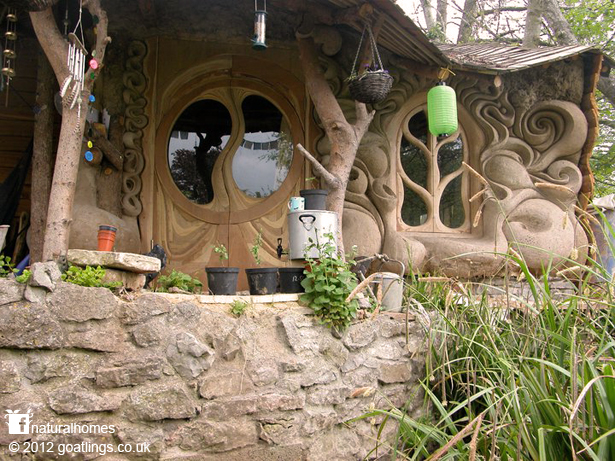 Natural Building With Style In Somerset England