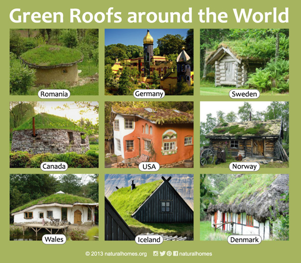 green roofs around the world