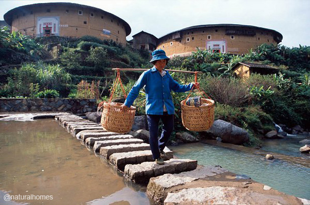 The Rammed Earth Tulou Of The Hakka People China