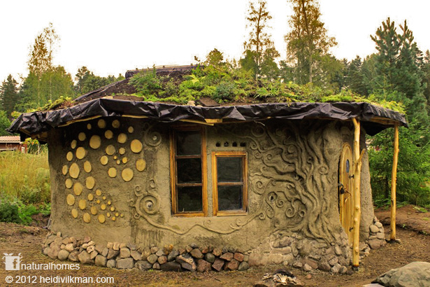 Natural Home with clay designs