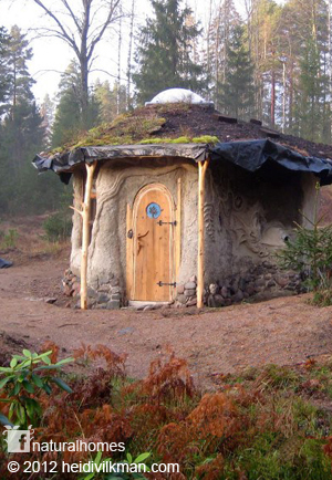 Clay model of natural home