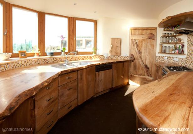 A Cob Straw Bale And Natural Edge Wood Home In County Sligo Ireland
