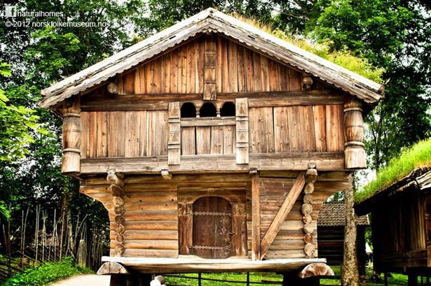 Natural building still strong after 700 years - Norwegian wood houses ...