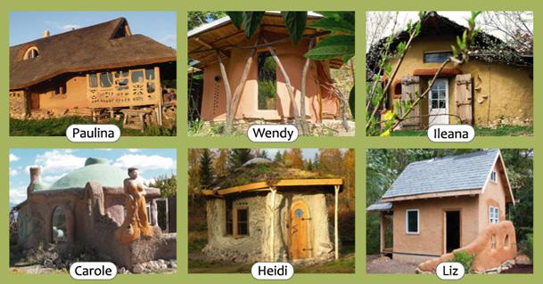 Natural homes built by inspirational women