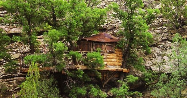 Val Kilmer S Treehouse Uses Garnier Limbs On Five Oak Trees