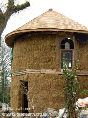 Rachel S Straw Bale Home In Wales