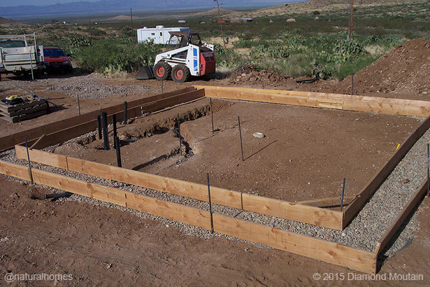 Rubble trench foundation for Digging foundation for house