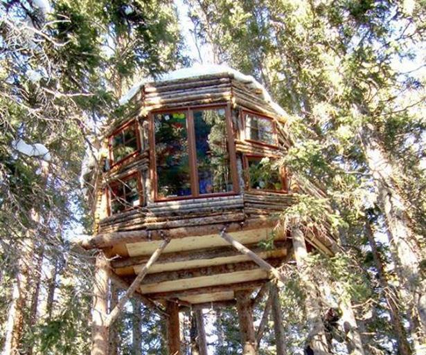 Casas en los rboles alrededor del mundo - Cabana en los arboles ...