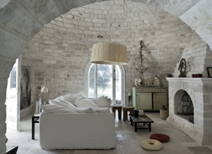 The Dry Stone Trulli Of Puglia In Southern Italy