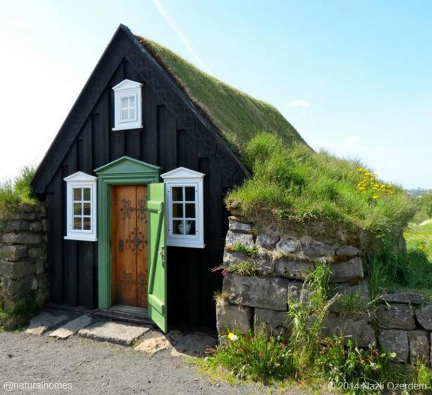 A Traditional Turf Home In Iceland