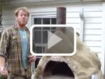 Ernie Wiseman's double cob oven