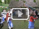 A maypole dance at LIttle Woodham