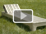 The pallet chaise longue
